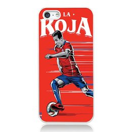 Wholesale Star Galaxy S3 - Chile Soccer star Roja case for iPhone 4s 5s 5c 6 6s Plus ipod touch 4 5 6 Samsung Galaxy s2 s3 s4 s5 mini s6 edge plus Note 2 3 4 5 cases