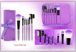 Wholesale Makeup Band - Makeup tools Brush Makeup Brushes 7 pcs  set MAKE UP FOR YOU band hot colors optional