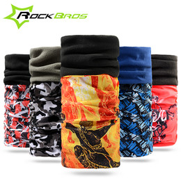 Wholesale Winter Cap Types - Wholesale-5 Types Rockbros Multifunction Ciclismo Magic Bandana Thermal Fleece Cycling Scarf For Autumn&Winter Cycling Headband