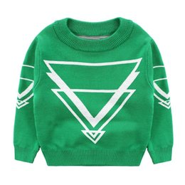 Wholesale V Neck Sweaters For Boys - Sweater Brand Turtlenecks For Boys Knit Wool Sweaters Boys Clothes Autumn Children's Clothing