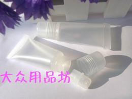 Argentina DHL 8ml tubo de barra de labios vacío, manguera de bálsamo labial, botella de compresión, tubo de plástico, botella de tubo de brillo labial botella vacía 1203 # 03 cheap lip gloss squeeze tubes Suministro