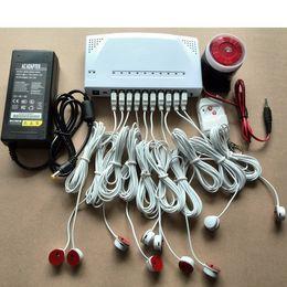 10 puertos Alarma de pantalla de seguridad Host de antirrobo de múltiples teléfonos celulares para venta al por menor o exhibición de teléfonos móviles y Tablet PC desde fabricantes
