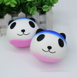 Wholesale Panda Key Chain - Hot Panda Squishy Panda Squishies Simulation Food For Key Ring Phone Chain Toys Gifts All Kinds Of Style
