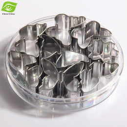 Wholesale Butterfly Cookies - 8pcs Set Stainless Steel Cookie Mold Butterfly Cake Mold Baking Tools Cookie Mold Cutter, dandys