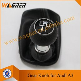 Wholesale Audi Shift Knob - WAGNER Free Shipping Hotsale Gear Shift knob 5 Gear for Audi A3 S3 8L (2000-2003) A3*