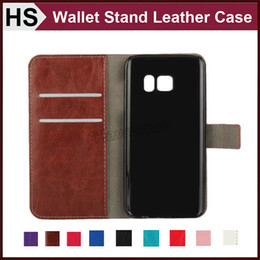 Wholesale Grand Cases - Wallet Leather Case For iPhone 5 5S 6 6S 7 Plus amsung S7 Edge S6 Edge J1 Grand Prime Z1 Card Pocket Stand & Hard Skin Flip Cover DHL