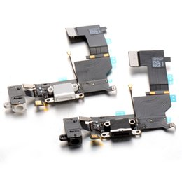 Wholesale Iphone 4s Charging Flex - For iPhone 4 4S 5 5S USB Charging Port Charger Dock Flex Cable Connector Free Shipping