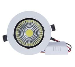 Decorazione luci soffitto online-Faretto da incasso a LED 9W / 15W LED COB Dimmerabile Faretti da incasso a soffitto Lamp de luz de techo For Home Lighting Decorate