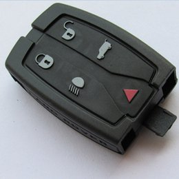 Wholesale Land Rover Freelander Key - Replacement Shell Remote Key Case Fob 4+1 5 Button For Landrover Freelander Discovery 4