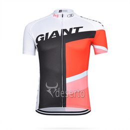 Wholesale Giant Shirts - 2015 Giant summer outdoor Cycling Clothing Short Sleeve jersey ride Sportswear Shirt bicycle wear Bike Jersey maillot Ciclismo