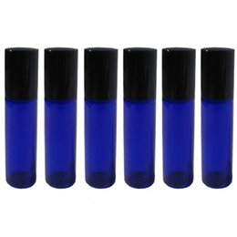 Wholesale Wholesale Cobalt Glasses - 50 pcs 10ML Glass Roll On Bottles, Cobalt Blue Glass , roll-on bottle, essential oil use,cosmetic packing