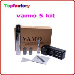 Wholesale Electronic Cigarette Christmas - Christmas Gift e cigarette vamo 5 e cigarette with ce4 atomzier Electronic Cigarette Kits DHL Free Shipping