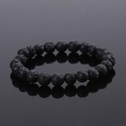 Wholesale Men Slapping Women - 2016 Natural Stone bead Buddha Bracelets For Women and Men, Turquoise,Black Lava bracelet,pulseras mujer