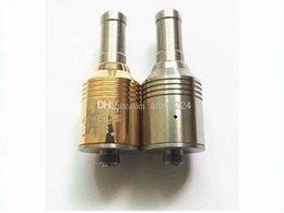 Wholesale Gold Nimbus Atomizer - Nimbus atomizer ecig RBA Atomizer Trident Nimbus Gold Vaporizer Kayfun Nimbus Atomizer Matched With Chiyou Bagua King E-cig Mod