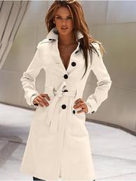 Wholesale Cashmere Blazer Women - 2016 Spring Fashion Womens WOOL Cashmere Long Winter Coat Blazer Outwear