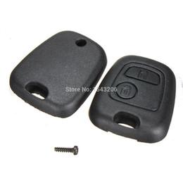 radiadores de plástico Rebajas Remote Key Case Shell para Citroen C1 C2 C3 C4 XSARA Picasso Peugeot 107 207 307 407 106 206 306 406 orden $ 18no pista