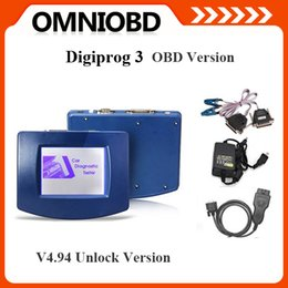 Wholesale Dodge Obd2 - Newest Main Unit of Digiprog III V4.94 Digiprog 3 with OBD2 ST01 ST04 cable odometer correction tool Digiprog3 In stock