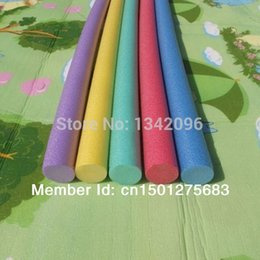 Wholesale Fun Exercises - 1 pc 6 x 150cm Swimming Pool Noodle Water Noodle Kids Adults Exercise Aids Floating Fun Noodle Therapy Soft Foam Noodle
