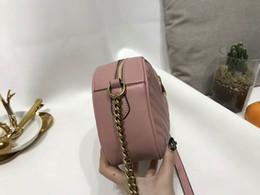 Wholesale Black Leather Backpack Handbags - freeship Luxury brand women bag luxury designer handbags leather backpack bags for women handbag Chain shoulder bag ladies handbags