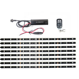 Wholesale Victory Cross - 8Pcs Waterproof RGB SMD5050 Led Strip Lighting Multi-Color Kit For UTV ATV Accent Lighting