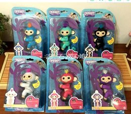 Wholesale Baby Christmas Stockings - Stocking!LOGO IS Fingerlings Interactive Baby Monkeys Smart Fingers Llings Smart Induction Toys Best Gifts Finger Monkey Toy Christmas toys