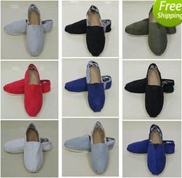 Wholesale Purple Sequin Shoes - Factory sales Men's Women's Classic Canvas casual Sequins flashing Lazy Flat ballet shoes shoe