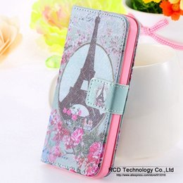 Wholesale Crown Cute Phone Wallet - Wholesale-Elf Sprite Matte Case for iphone 4 4S 4G Wallet Stand Flip Leather Bird Crown Phone Accessories Owl Cute Cover for Apple iphone4