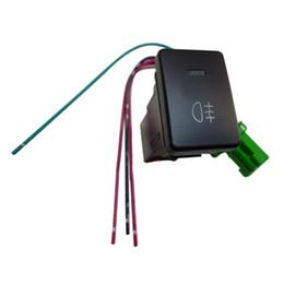 Wholesale Black Pool Lights - FS Hot DC12V Black Pilot Lamp 4 Wire Fog Light Switch for Toyota Camry order<$18no track