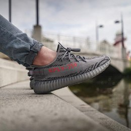 Wholesale Best For Winter - Top Quality Boost 350 V2 Beluga 2.0 Blue Tint Zebra Orange Grey Black Red Cream Kanye West Running Shoes Best For Sale With Box
