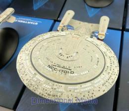 Wholesale Metal Cast - Wholesale-STAR TREK USS ENTERPRISE NCC-1701 D, Eaglemoss, Die-Cast Metal Ship,dirigible