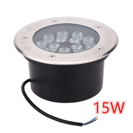 Wholesale High Power Led Project - 15W LED Underground Lamps Buried Lighting LED Project Lamps AC85 - 265V LED Outdoor Lamps IP67 High Power LED spotlight