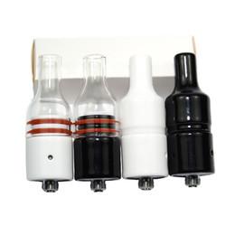 Goteo online-Wax Vaporizador Dripper Ceramic Glass Wax Atomizer Donut bobinas sin mecha Puffco vaporizador rda Vaporizador bobina Generation Atomizer para Box Mod
