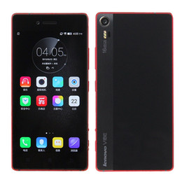 Wholesale Android Qualcomm - Original Lenovo VIBE Shot Z90-7 4G LTE Smartphone 5.0Inch Android5.0 Lollipop 3G RAM 32G ROM 16.0MP QualcommSnapdragon615 64BIT