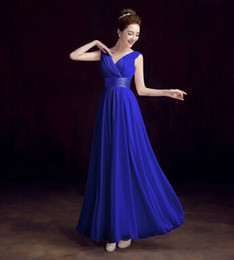Wholesale Sexy Hunter Costumes - 2016 Costume Dark blue evening Dresses Amazing Detail Blue Sequin Off-shoulder Full length A lineEvening Dresses Z49