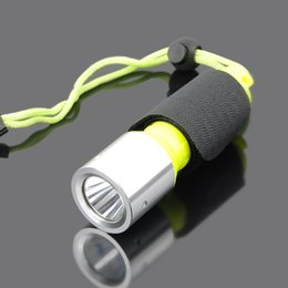 Wholesale Diving Underwater Light - 2016 New 2000LM CREE T6 LED Waterproof underwater scuba Dive Diving Flashlight Dive Torch light lamp for diving free shipping