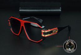 Wholesale Red Glass Rocks - 163 Eyewear Square Hip Hop women Men Sunglasses Mirror Lady Fashion Brand Designer Sun Glasses UV400 Female Rock transparent lens gozluk