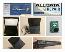 Wholesale Used Nissan Cars - alldata mitchell ondemand repair software 2in1 with 1tb hdd installed in t410 laptop for cars and trucks windows7 ready to use