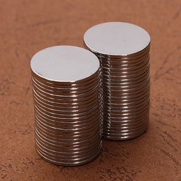 Wholesale Super Strong Magnets Disc - 50pcs N50 15mmx1mm Super Strong Round Disc Magnet Rare Earth Neodymium Magnets