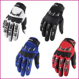 Wholesale Finger Bmx - New Dirtpaw Motocross Motorcycle Gloves Mountain Bike Cycling Downhill BMX ATV MTB MX DH Gloves Men profession Motocross full finger gloves