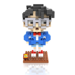 Wholesale Hot Dr - Hot Sale LOZ Building Blocks Anime Conan Doyle and Dr. Lee Boys Girls Toy Mini Bricks Toys for Children Gifts Educational Toys