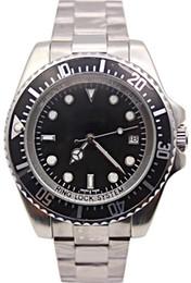 Wholesale Sea Watches - Luxury Brand Men's 44mm Stanless Steel Bracelet 116660 SEA-DWELLER Automatic Business Casual SEA mens Watch