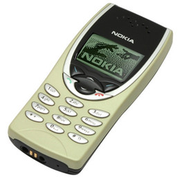 Wholesale Dual Gsm - Refurbished Original Nokia 8210 Unlocked Cell Phone 2G Dual Band GSM 900 1800 GPRS Classic Multi Languages