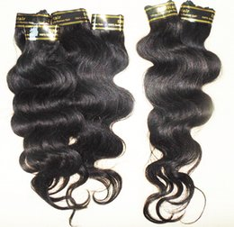 Wholesale cheapest human hair weaves - Grade 7A large stock Peruvian human hair weave 7pcs lot body wave hair bundles processed cheapest price