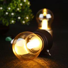 Wholesale Bulb Desk Lamp - Creative USB Mini Retro Bulb LED Lamp,Retro Metal Lever Switch Bulb Atmosphere Lamp Rechargeable Vintage Art Desk USB NightLight