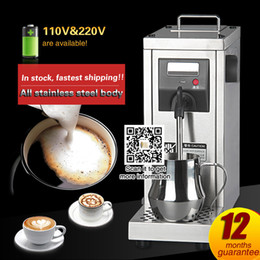 Wholesale Commercial Milk - Commercial Milk Steamer Espresso Machine For Coffee Electric Steam Milk Machine