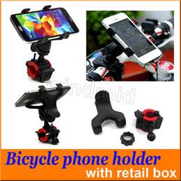 360 Derece Evrensel MTB Bisiklet Bisiklet Telefon Tutucu Gidon Dağı Motosiklet Telefon Tutucu iPhone i7 Samsung note7 GPS + perakende k ... nereden motosiklet evrensel telefon tutacağı tedarikçiler
