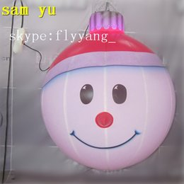 Wholesale Christmas Snowman Inflatables - High quality Outdoor Inflatable Santa Claus balloon, inflatable Christmas balloon, inflatable snowman balloon for Christmas decorations