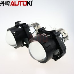 Wholesale Projector Low Beam - Free Shipping Car Dland Original Hella 6 HID Bi-Xenon Projector Lens High low Beam light