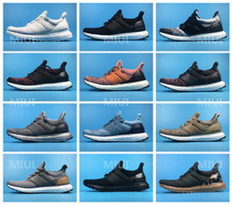 Wholesale Elastic For Beading - Top Quality for Resell UltraBoost 3.0 Triple Black White Primeknit Oreo CNY Blue Running Shoes Men Women Ultra Boost Sports Shoes 36-46