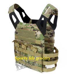 Canada Bonne qualité Airsoft JPC Tactical Vest Version simplifiée Tactique réglable gilet Army Combat Gear veste tactique 12 couleurs supplier army combat vest Offre